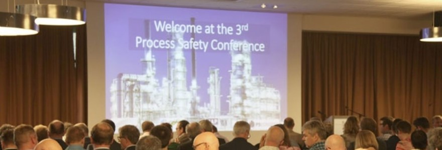 Presentation slide at Process Safety Conference