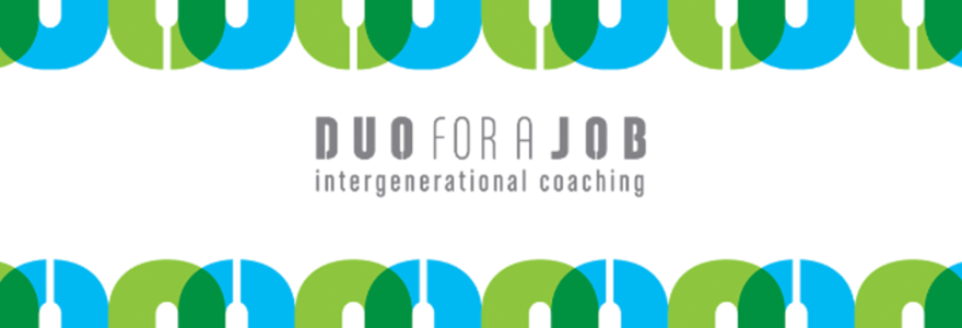 duo for a job intergenerated coaching banner